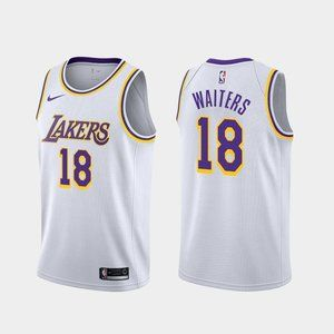 Los Angeles Lakers Dion Waiters White Jersey